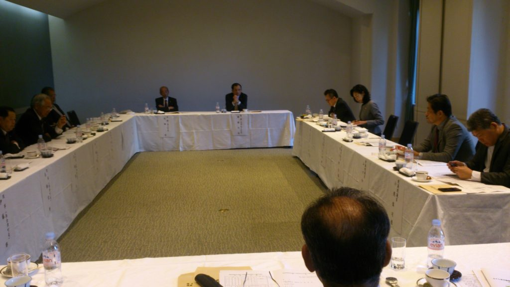 福島県町村会と地域課題について意見交換