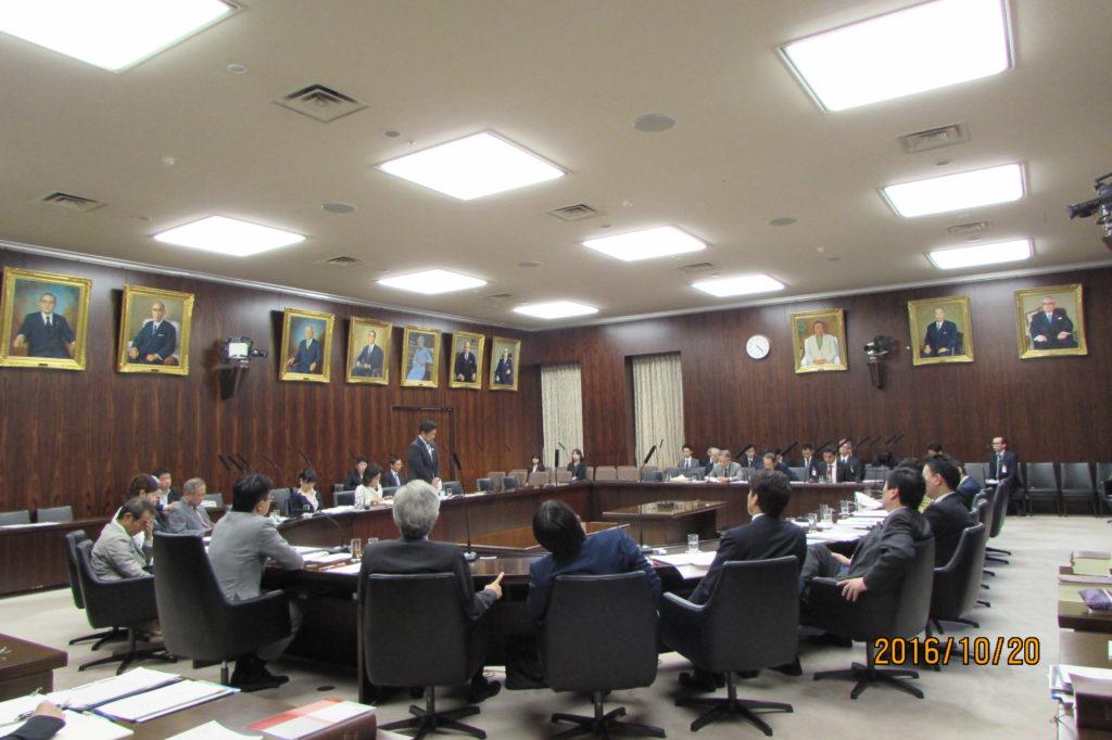 法務委員会で技能実習の介護への拡大について質問